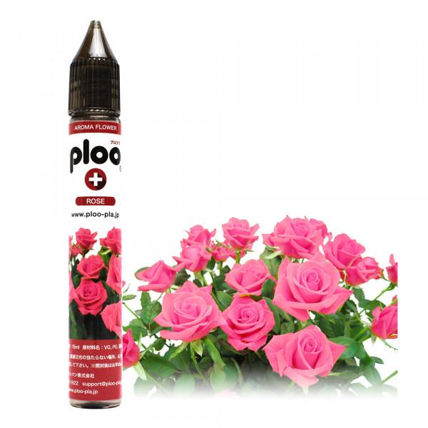 ploo+ 電子たばこ リキッド アロマフラワー ローズ 15ml